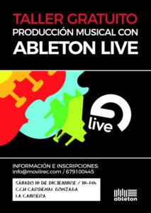 taller producción musical con ableton live sierra norte madrid